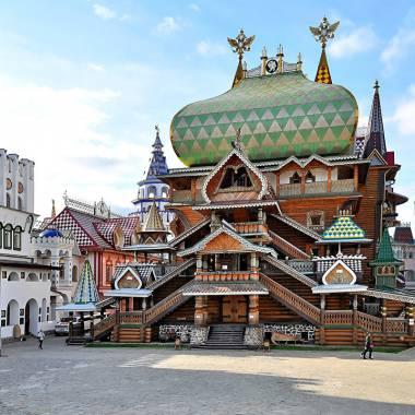 Банкетный зал Боярский в измайловском кремле