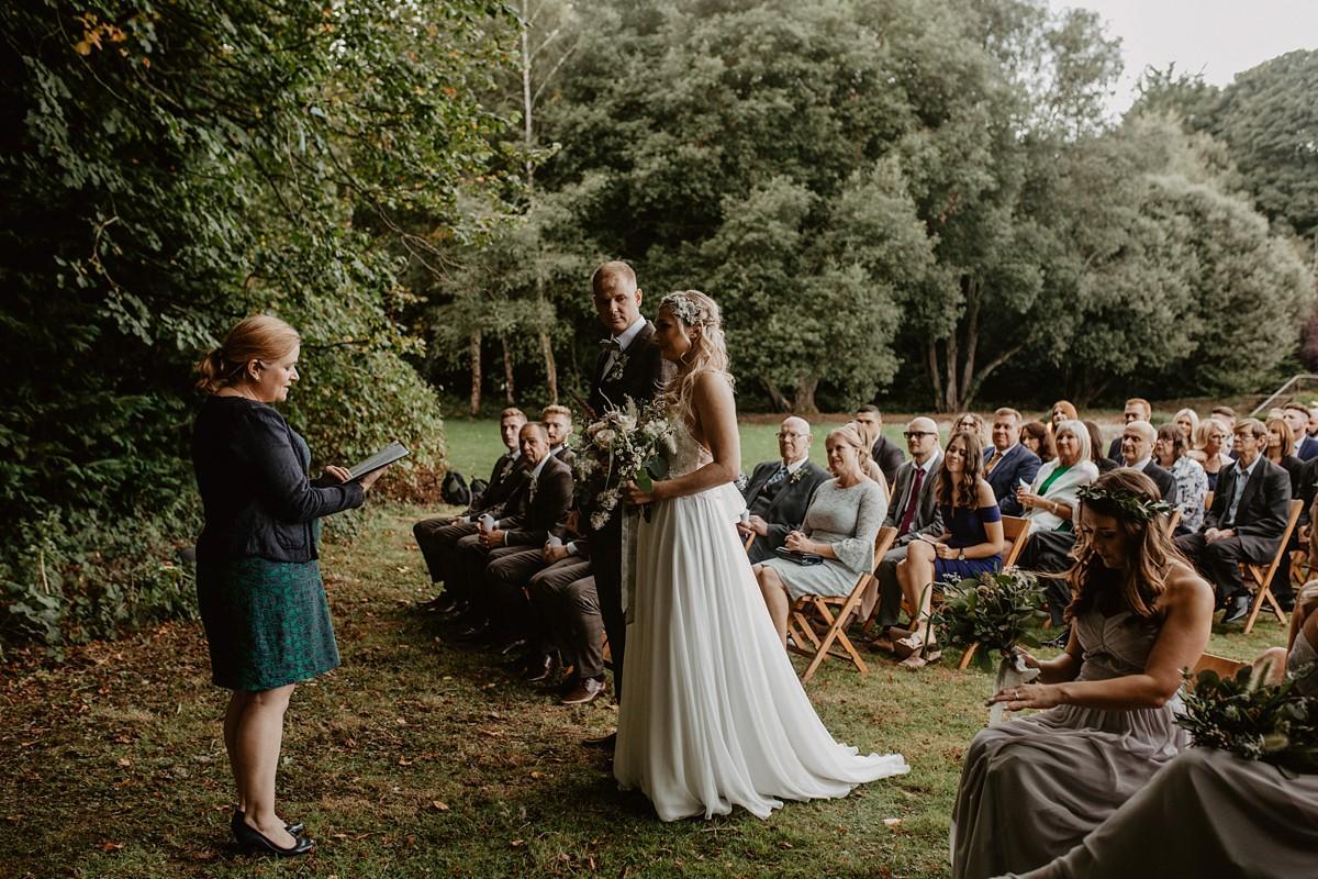 площадка для свадьбы Woodland