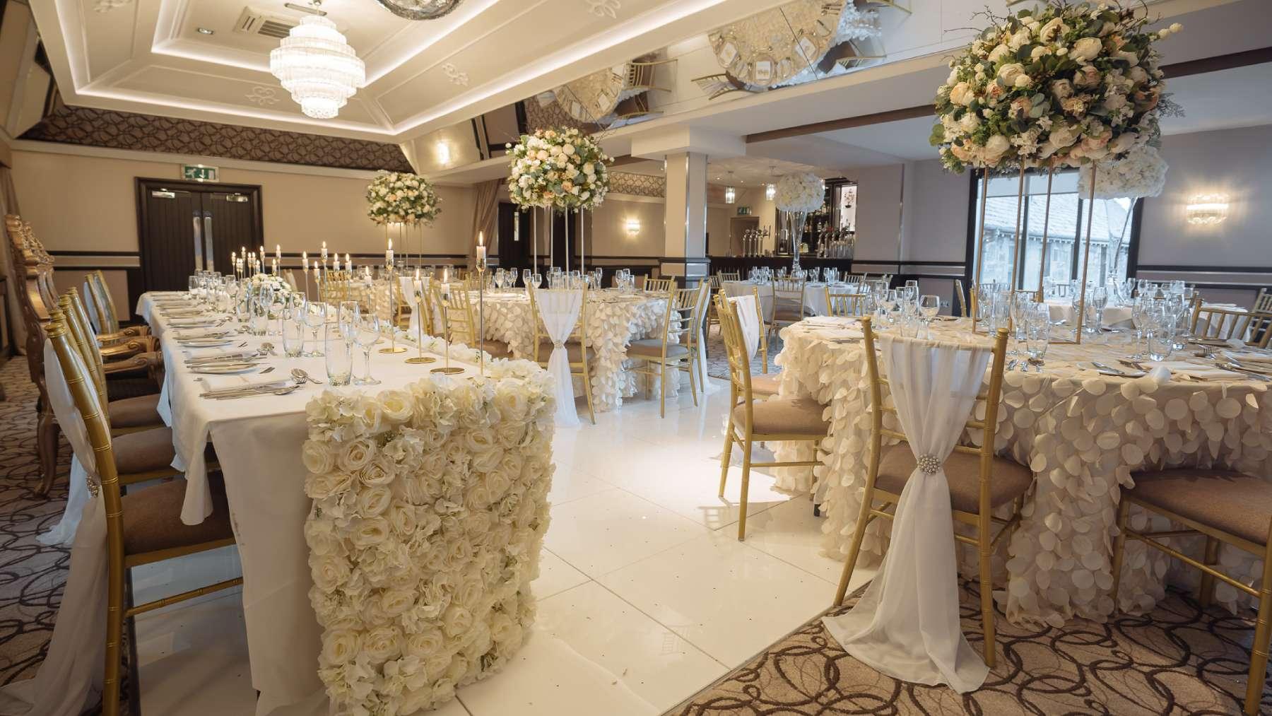 Свадьба в отеле банкетный зал