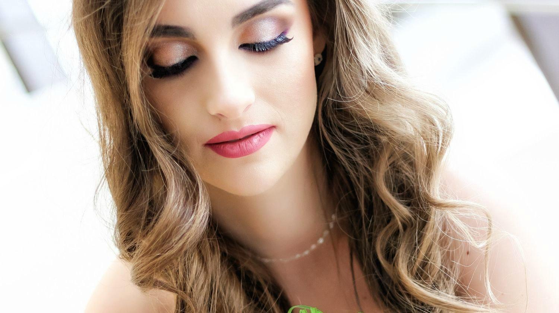 свадебный макияж пример