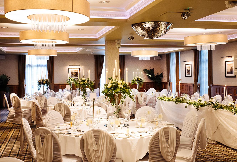 Свадьба в отеле банкет
