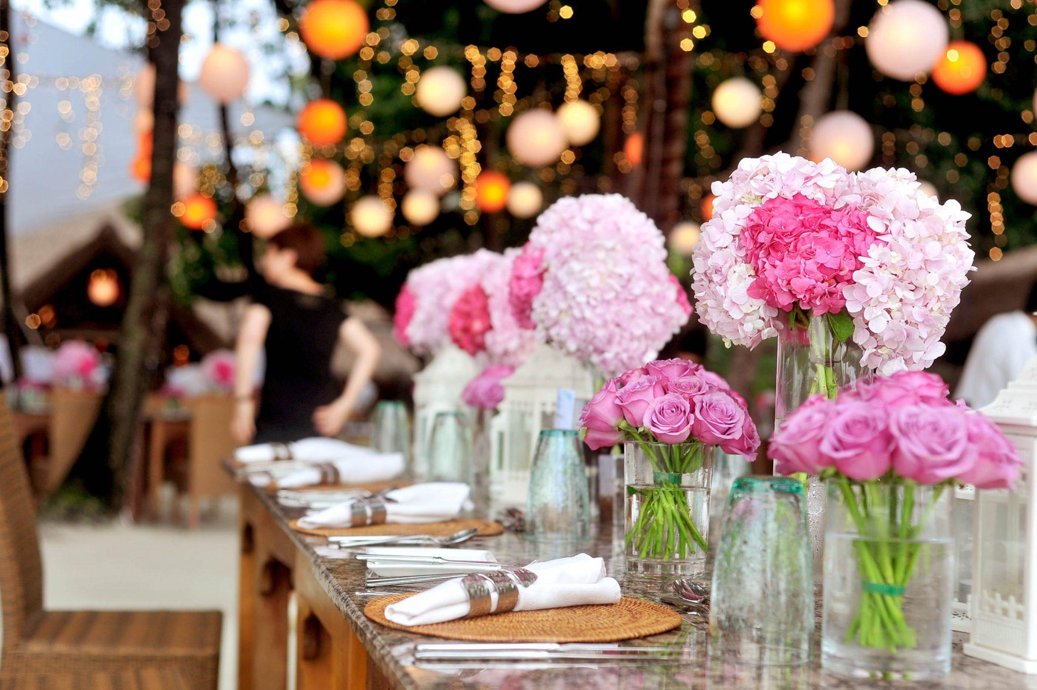 Бюджетная свадьба цветы