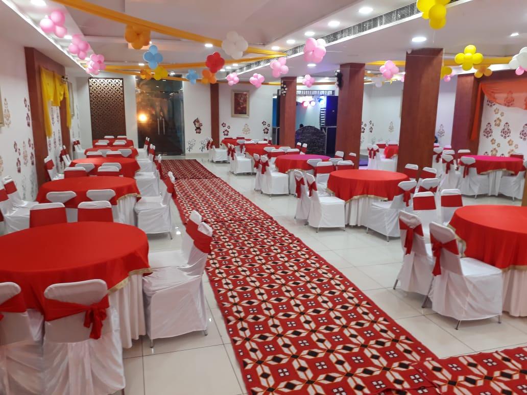 Красный банкетный зал